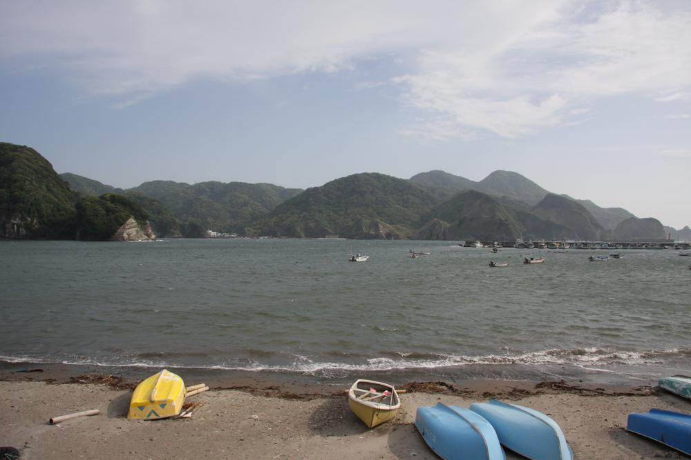 当宿の目の前のビーチです。(宿から砂浜まで5m)